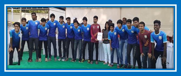 DSO Level Football Winners – Boys